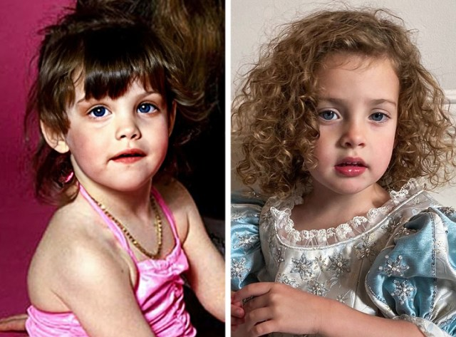 18 Famous Parents and Children Whose Resemblance Is Visible, Even From Space