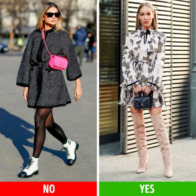 What Clothes Women Need to Choose for 5 Non-Standard Leg Shapes