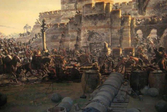 ottoman Constantinople battle