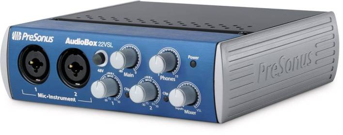 Presonus AudioBox (USB connection) for Music Production