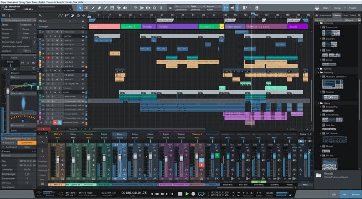 Presonus Studio One 3 for Music Production