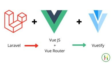 Photo of Laravel 7 + VueJS + Vue Router + Vuetify