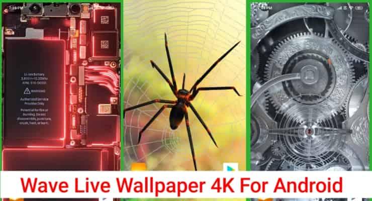 Wave Live Wallpaper 4K