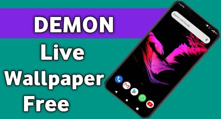 DEMON Live Wallpaper Free