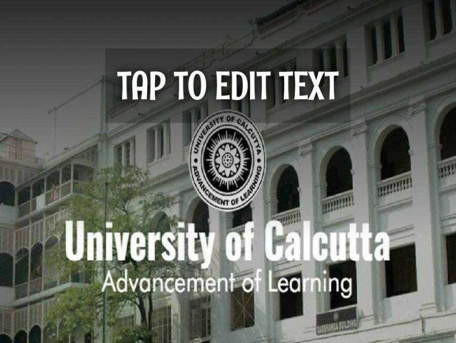 कलकत्ता विश्वविद्यालय