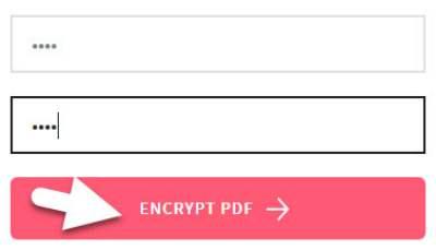 encrypt pdf