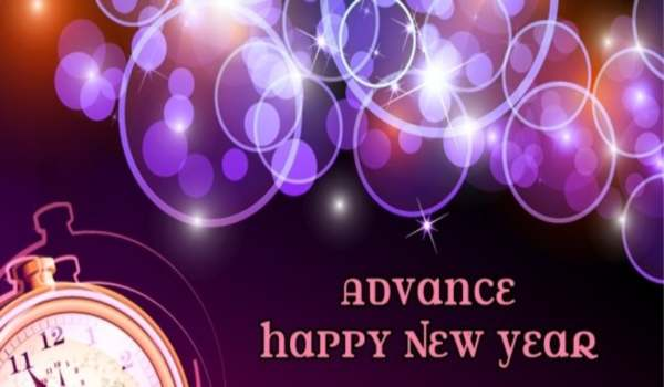 Advance happy new year photos