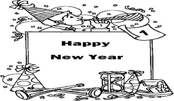 New year drawing