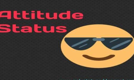 Cool Attitude Status