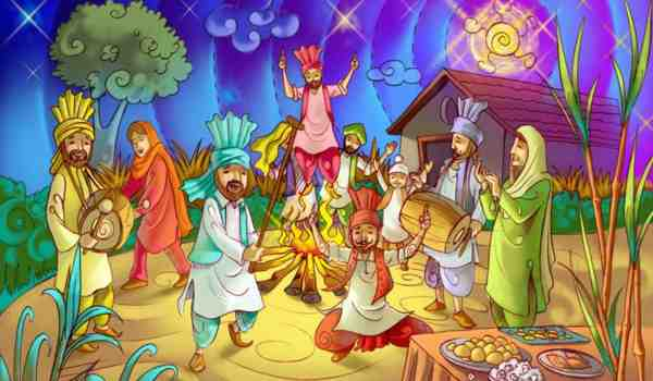 Lines On Lohri in hindi