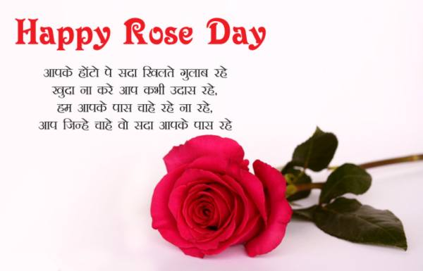 Happy rose day gif