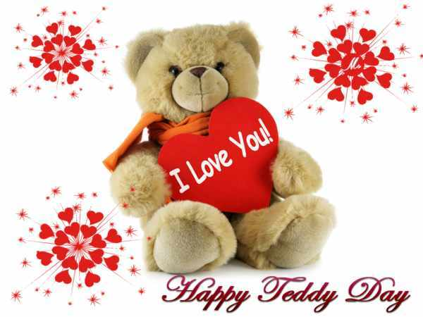 Teddy day photo download