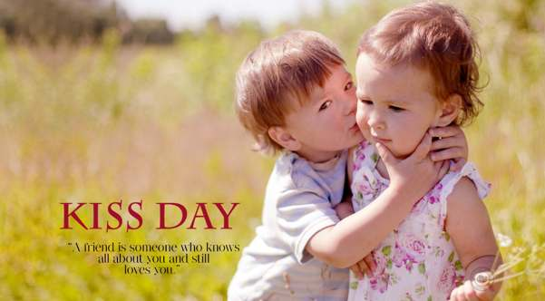 kiss day Images for love