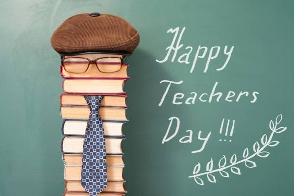 happy teachers day in english