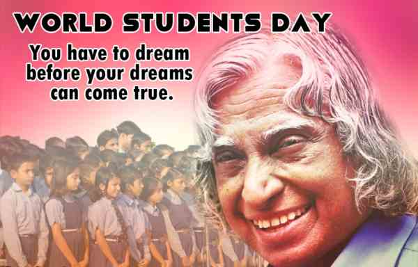 World Student's Day Wishes for WhatsApp
