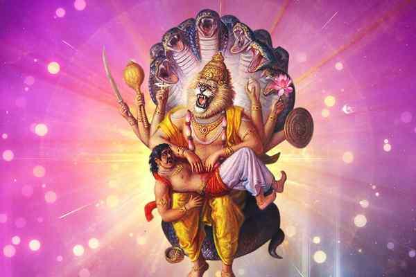 Happy Shri Narsingh Jayanti sms
