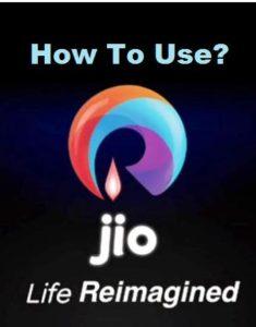 Reliance Jio 4g sim card mobile me kaise use