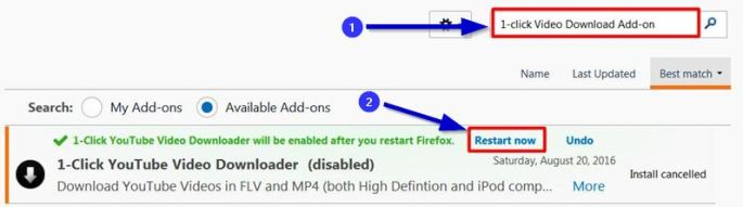 add-on for youtube videos downloader easy