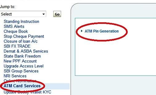 SBI ATM Debit Card PIN Change kaise kare