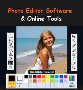 Photo Editor Software  Tools