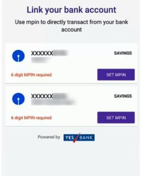 link bank account in phoneme wallet