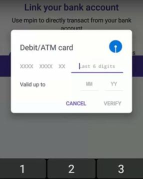 link atm phoneme wallet