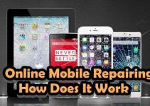how to online mobile repairing website