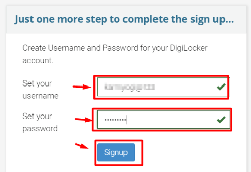 Digilocker Me Username Password