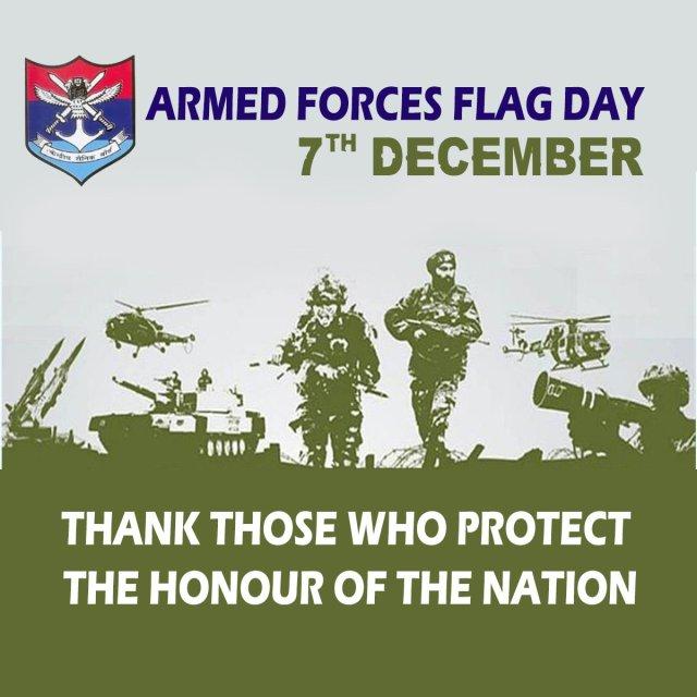 इंडियन आर्म्ड फोर्सेज फ्लैग डे कोट्स, सशस्त्र सेना झंडा दिवस पर भाषण हिंदी में - Indian Armed Forces Flag Day Speech in Hindi