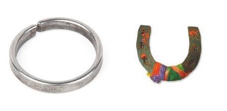 black horseshoe
