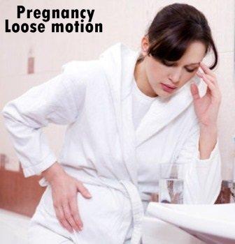 pregnancy loose motion