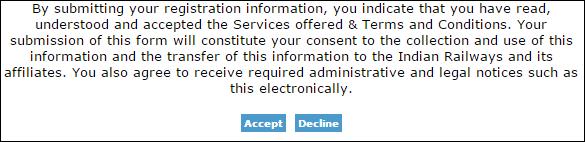 irctc accept terms
