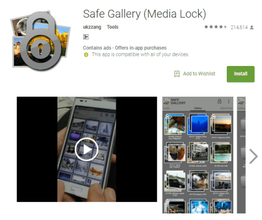 safe gallery