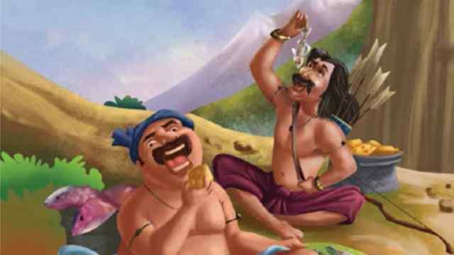 मछुआरा और शिकारी Moral Story in Hindi