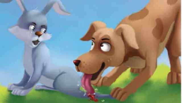 कुत्ता और खरगोश Moral Story in Hindi