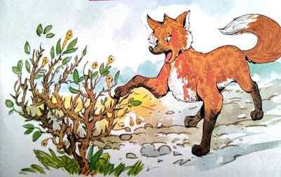 कंटीली झड़बेरी Top 10 Moral Stories in Hindi with Fox