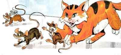 चूहा और बिल्ली Moral Stories in Hindi