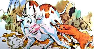 स्वार्थी बकरी Top 10 Moral Stories in Hindi with Goat