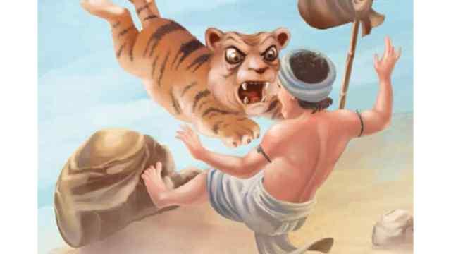 बूढ़ा बाघ और लालची राहगीर Moral Story in Hindi
