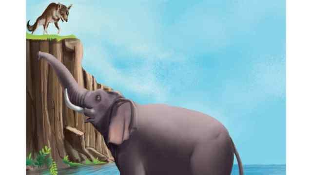 सियारों का झुंड और हाथी Moral Story in Hindi
