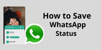 whatsaap status kaise save kare