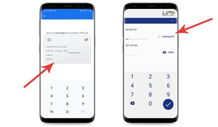 Google Pay UPI Password
