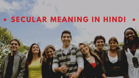 Secular Meaning in Hindi