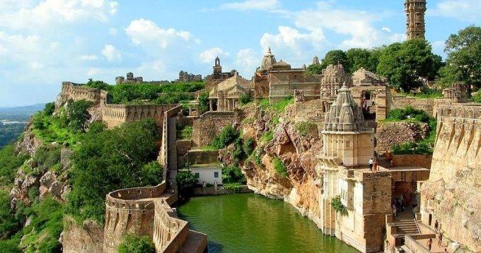Rajasthan  Chittorgarh ka kila