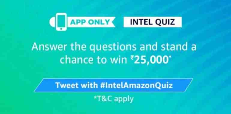Amazon Quiz ka Uttar