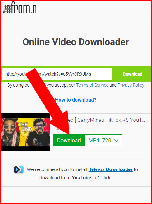 JioPhone me YouTube Video Download Kare