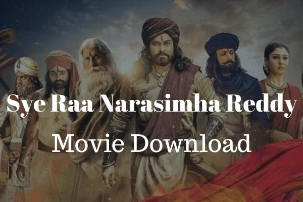 Bollywood movie download Sye Raa Narasimha Reddy