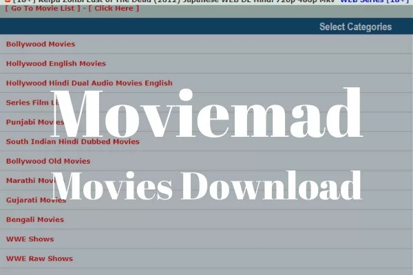 Moviemad HD Movies Download Free