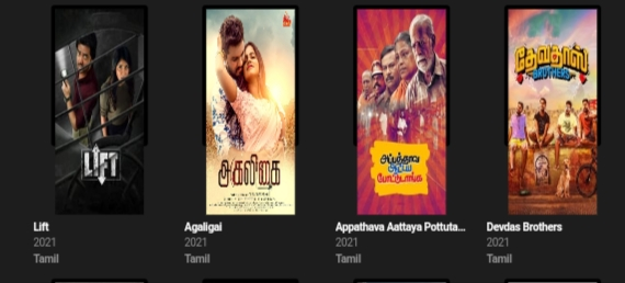 Which types of movies download from  Madras Rockers