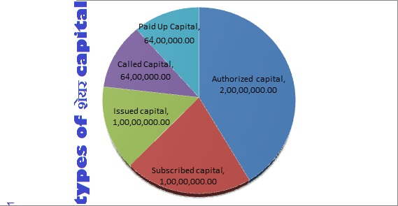 TYPES OF SHARE CAPITAL IN HINDI - शेयर बाजार की